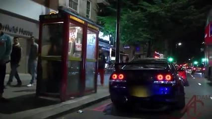 Японски коли полудяват в Лондон!