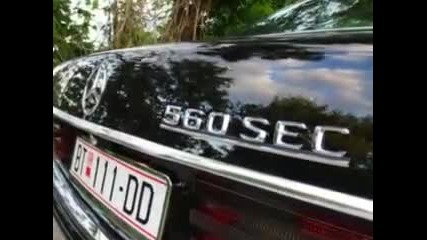 Mercedes 560 Sec Amg in Bitola, Macedonia