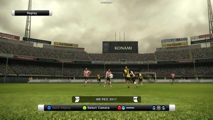 Pes2011 goal2