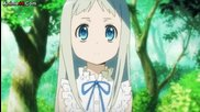 Anohana: The Flower We Saw That Day 01 Super Peace Busters 1 bg