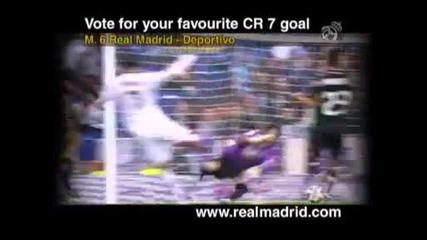 Vote for Cristiano Ronaldo's best goal in the 2010 _ 11 season