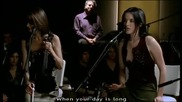 *превод* The Corrs - Everybody Hurts /unplugged