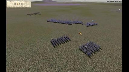 Rome Total War 1v1 Online Battle #011