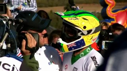 Part 3 of 3 2009 Downhill Mountain Bike World Championships Mt. Stromlo Canberra Australia