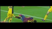 Най-доброто от Неймар срещу Атлетико Мадрид (01.04.2014)