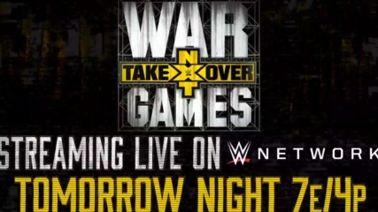 Battle lines have been drawn for tomorrow's NXT TakeOver: WarGames II