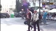 """Сериозна охрана по улиците на Валенсия преди реванша на """" Орлите """" от Разград"""
