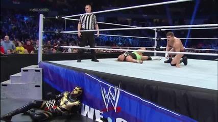 Коуди Роудс и Златен прах срещу New Age Outlaws / Разбиване 17.01.2014г.