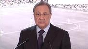 Президентът на Реал Мадрид подкрепи Рафа Бенитез след загубата в Ел Класико