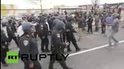 USA: Arrests made at Baltimore protest after Freddie Gray funeral