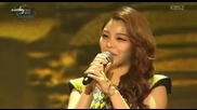 26/05 Ailee - Music Bank in Istanbul 070913