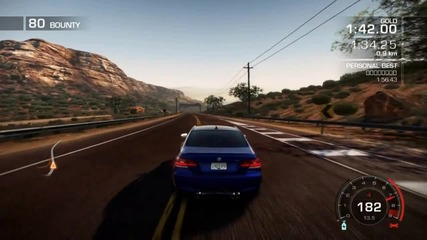 Need for speed Hot Pursuit Bmw M3 Gameplay