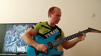 Oki Guitar Player-The Riddle (Wig Wam cover)