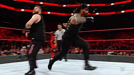 Roman Reigns vs. Kevin Owens: Raw, Nov. 28, 2016 (Full Match)