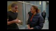 Magician David Blaine Impresses Tyra Banks