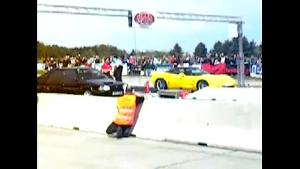 Citroen Bx Gti vs Corvette Zr1