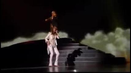 /превод/ Celine Dion - Because You Love Me/ Тo Love You More / Селин Дион микс