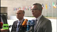 Belgium: German interior minister foresees no solution at migrant talks