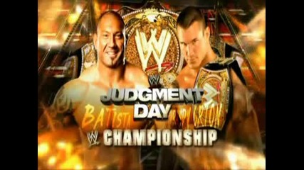 Wwe Judgment Day 2009 Randy Orton vs Batista Preview