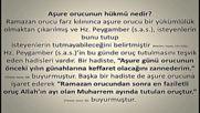 Muharrem Ayi Asure Orucu Hukmu ve Fazileti Hadisi Serif Turkce Dublaj Film Yonetmen 2016 Hd