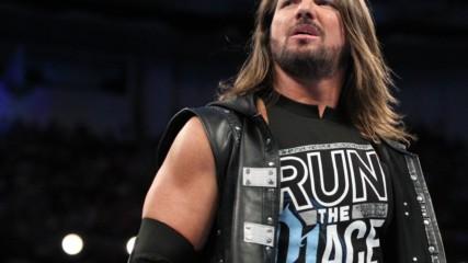 Samoa Joe interrupts AJ Styles: Wal3ooha, 16 August, 2018