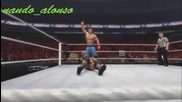 Wwe'12 - John Cena ( Entrance & Moves )