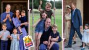 Очарователно: принц Уилям и неговите прекрасни наследници с нови снимки