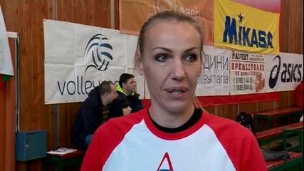 Волейболни легенди и аматьори играха в Мач на звездите
