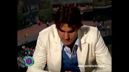 Federer След Победа Над Nadal 2006