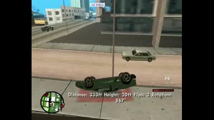 Big Jump On Gta San Andreas