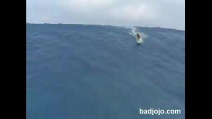 Най - Голямата Вълна , На Която Е Сърфирано