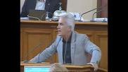 Сидеров съсипва Цветанов с невероятна реч