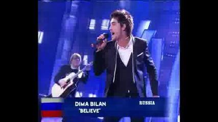 Dima Bilan - Winner Eurovision 2008
