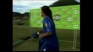 "Роналдиньо официално е футболист на ""Фламенго"""