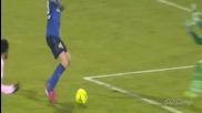 Вижте страхотния гол на Димитър Бербатов срещу Евиан - 07.03.15