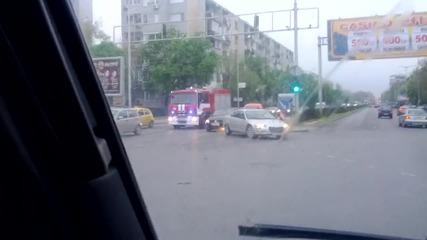 Пожарна Iveco на 3 рс пбзн Пловдив