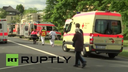 Germany: TWENTY THOUSAND evacuated for WWII bomb disposal operation