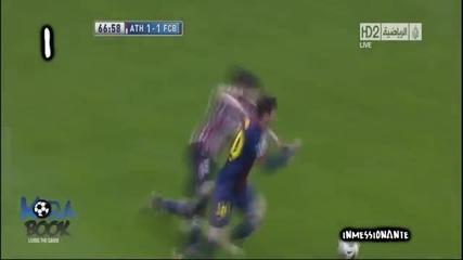 Lionel Messi - Top 10 Goals in 2012/2013 - La Liga