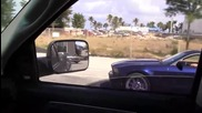 Mustang G T - Зверски Рев !