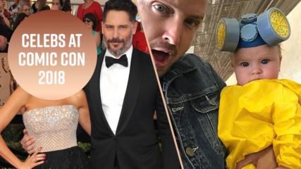 Забеляза ли звездите на Comic Con 2018?