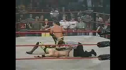 Aj Styles Vs Samoa Joe Vs Christian Cage