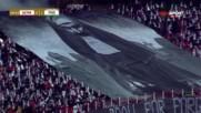 Зрелищна хореография от запалянковците на ЦСКА