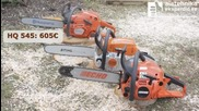 Echo Cs-500es vs Husqvarna 545 vs Stihl Ms-261