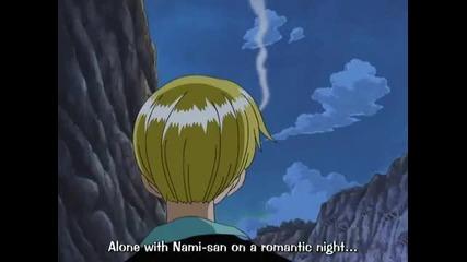 One Piece - Funny sanji moment rofl