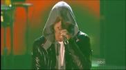 [ Американските музикални награди ] Eminem ft. 50 Cent - Crack a Bottle & Forever [ 2009 ]