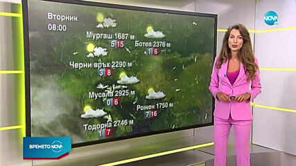 Прогноза за времето (14.07.2020 - сутрешна)