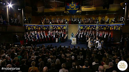 Sweden: Nobel Prize winners receive awards at Stockholm ceremony