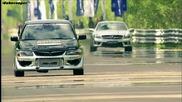 1000коня Mitsubishi Evo Ams vs Mercedes Sl63 Amg