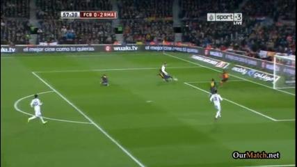"""27.02.13 Барселона - Реал Мадрид 1:3 """"бялата"""" лавина помете Барса на """"камп Ноу"""""""