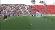 4 хиляди зрители изгледаха тренировката на Уругвай